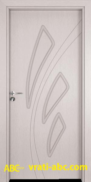 Интериорна врата Gama P 202 D - Цвят Венге