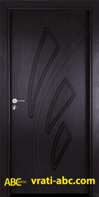 Интериорна врата Gama P 202 X - Цвят венге