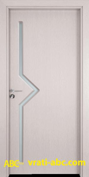 Интериорна врата Gama 201 D - Цвят Перла