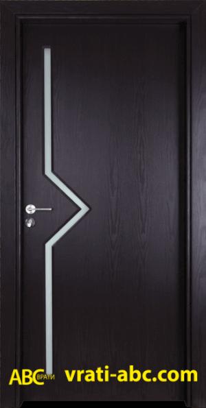 Интериорна врата Gama 201 X - Цвят Венге