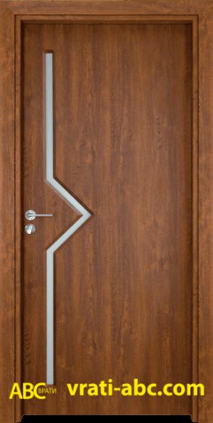 Интериорна врата Gama 201 Z - Златен дъб