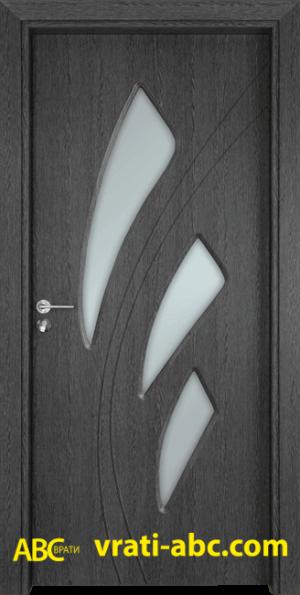 Интериорна врата Gama 202 G - Сив Кестен