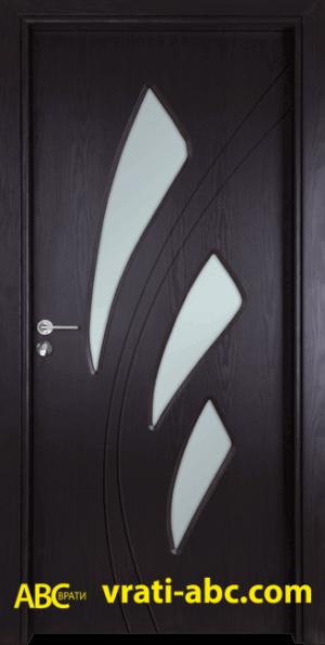 Интериорна врата Gama 202 X - Цвят Венге