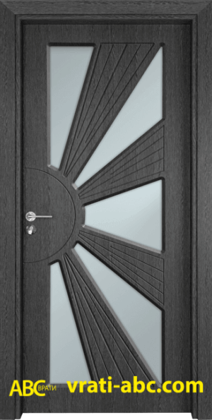 Интериорна врата Gama 204 G - Сив кестен