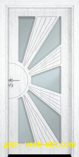 Интериорна врата Gama 204 Y - Цвят Бреза