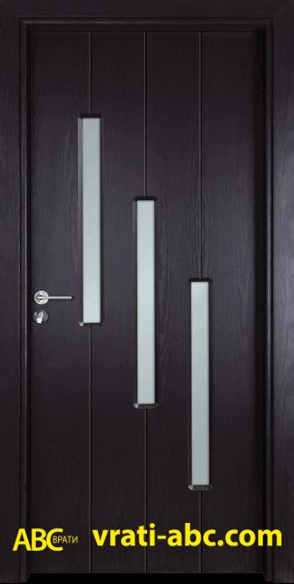 Интериорна врата Gama 206 X - Венге
