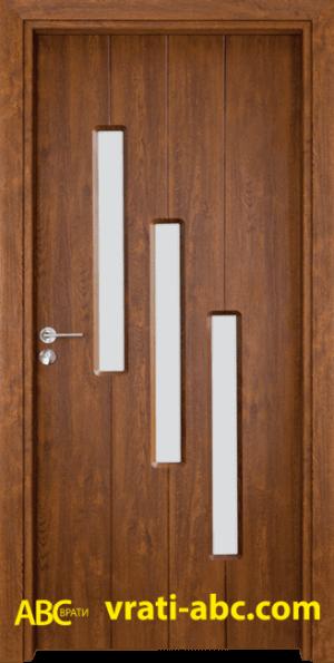 Интериорна врата Gama 206 Z - Цвят Златен дъб