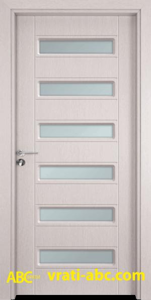 Интериорна врата Gama 207 D - Перла