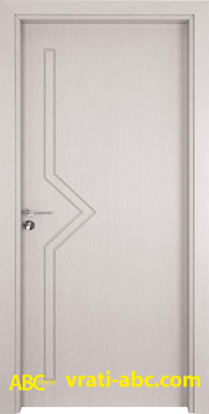Интериорна врата Gama P 201 D - Цвят Бреза
