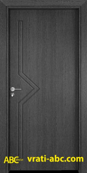 Интериорна врата Gama P 201 G - Сив кестен