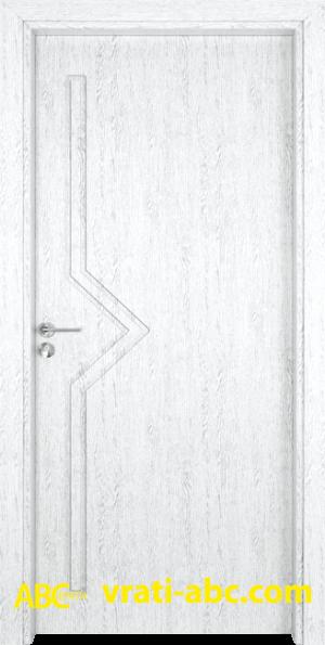 Интериорна врата Gama P 201 Y - Цвят Бреза