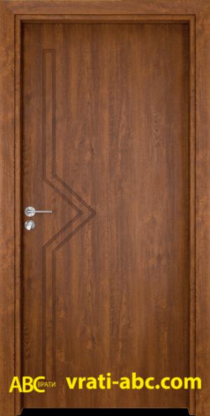 Интериорна врата Gama P 201 Z - Златен дъб