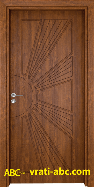 Интериорна врата Gama P 204 Z - Златен Дъб
