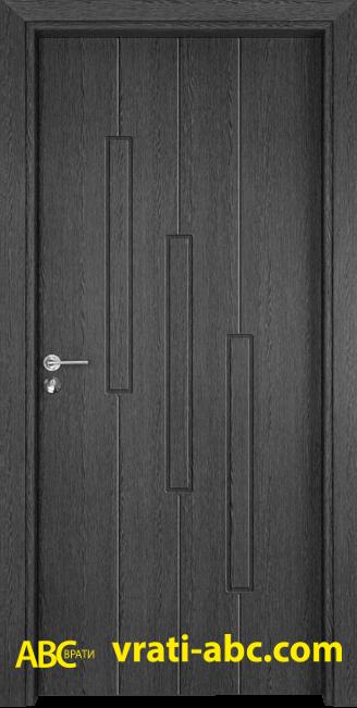 Интериорна врата Gama P 206 G - Сив Кестен