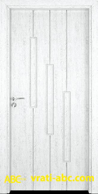 Интериорна врата Gama P 206 Y - Цвят Бреза