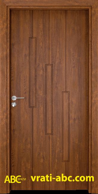 Интериорна врата Gama P 206 Z - Златен Дъб