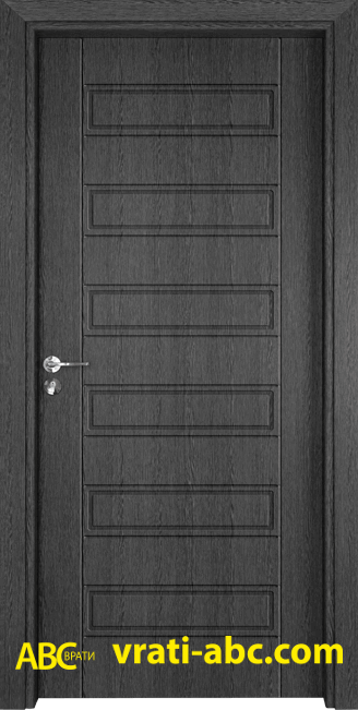 Интериорна врата Gama P 207 G - Сив Кестен