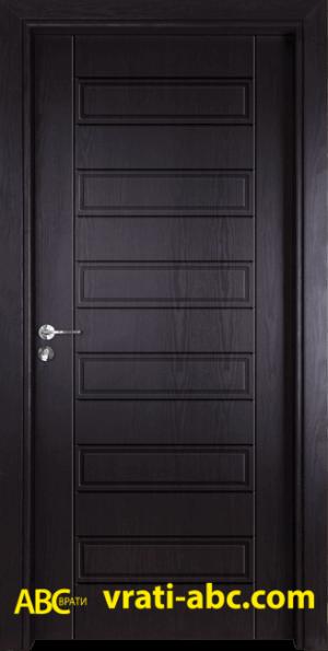 Интериорна врата Gama P 207 X - Цвят Венге