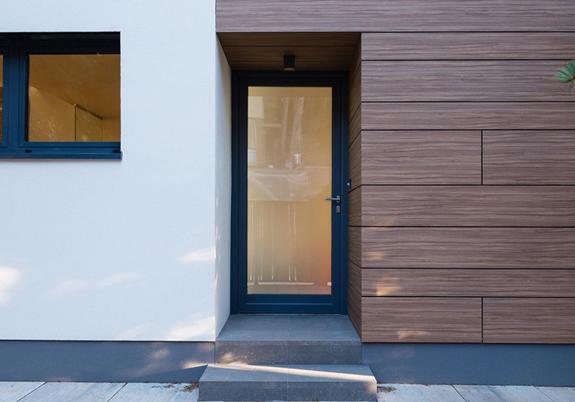 Модерна входна врата